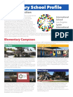 Elementary Profile Sample