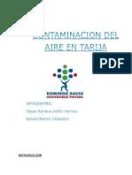 Contaminacion Del Aire en Tarija