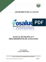 Manual Polticas y Procedimientos Almacenes