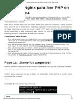 Configure Nginx Para Leer PHP en Ubuntu 16.04 _ Web Liquida