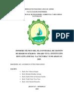 Informe Tecnico PIGARS F
