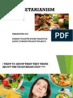 EXP Vegetarianismps
