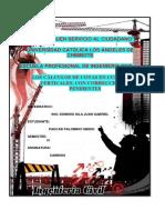 Informe de Caminos 006 Cálculos de Cotas en Curvas Verticales, Con Corrección de Pendientes
