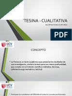 TESINA - CUALITATIVA