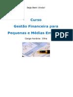 Curso Gestao Financeira Para Pequenas