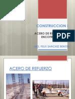 Clase Construccion i , Encofrados 2014-II