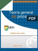 Separata de la Teoría General Del Proceso Peruano