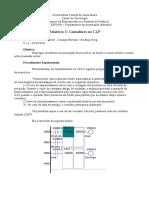 relatório 3 automação