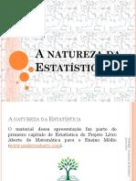 PAPMEM Jan 2019 a Natureza Da Estatística Flavia