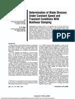 18-Determination of Blade Stresses Under Constant Speed Pp424-433