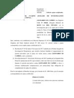 Modelo de escrito
