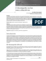 Gestion Del Desempeno Organizaciones Educativas