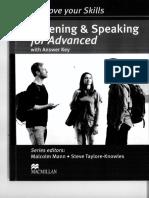 (Książka Na Słuchanie) Listening and Speaking for Advanced