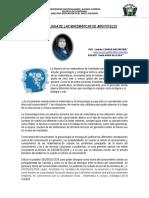 La Gnoseologia de Las Matematica de Aristoteles