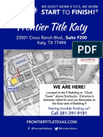 Katy Office Map