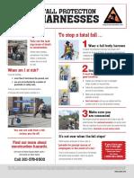 Safet harness hazard