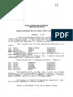 1988 31 LUGLIO  verbale della Prima Commissione referente, in seduta congiunta col Comitato Antimafia, audizione del dott. Giovanni Falcone LEOLUCA ORLANDO A. MELI ALFREDO GALASSO