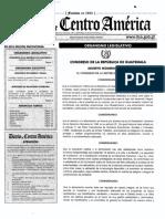 Decreto 16-2017 Diario de Centroamerica