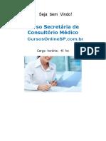 Curso Secretaria de Consultorio Medico Sp 45640