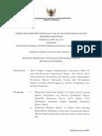 Permen PUPR 04-2017 Ttg Penyelenggaraan Sistem Pengelolaan Air Limbah Domestik