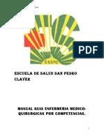 Manual Guia Medico Quirurgico Por Competencias