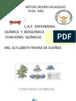 Clase 5-Funciones Inorganic y Organica2018 -i