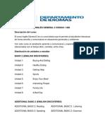 Programa Inglés General 2 2019 May Ed