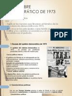 El Quiebre Democrático de 1973