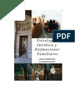 Psicología Jurídica y Disfunciones Familiares - STELLA MARIS PUHL  COORDINADORA