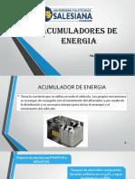 Acumuladores Energia