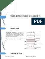 Post Tensioned Presentation