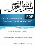Islam Barrage