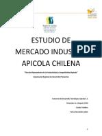 Estudio de Mercado Industria Apicola Chilena