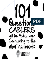 101 Questions for cablers