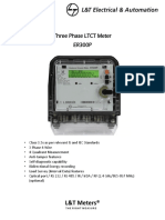 Three Phase Ltct Meter Er300p