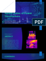 Health Index of Power Transformers