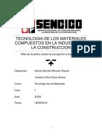 Tecnologia de Los Materiales Compuestos en La Industria de La Construccion