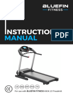 Bluefin Weights Bench Manual A5 5mm Bleed