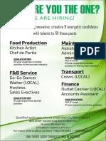 New Job Advertisement -May 19 Amd