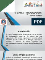 Presentacion de Clima Organizacional