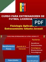 Fisiologia Aplicada Al Entrenamiento Infanto-Juvenil FVF