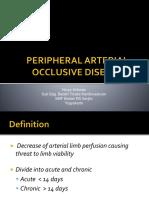 PERIPHERAL ARTERIAL OCCLUSIVE DISEASE.ppt