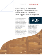 Oracle E-Business Suite Supply Chain Management