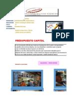 Actividad 14 Presupuesto Capital.. Krystel y Treici