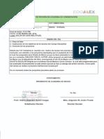 Acta de proyecto de la Academia de Comunicación y Lenguaje