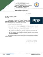 Designation Brigada