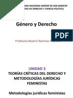 BeatrizRamírez - Genero y Derecho - Metodologías Jurídicas Feministas