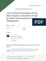 2007 Milf Political Strategies