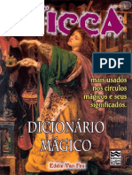 Eddie Van Feu Wicca Dicionário Mágico Os Termos Mais Usados Nos Círculos Mágicos e Seus Significados 1