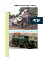 The Used of Armored Vehicle in COIN